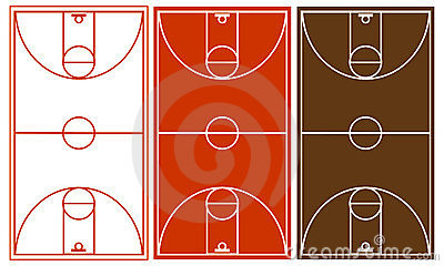 Basketball Court Set