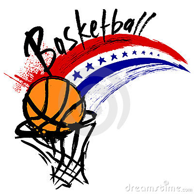 Free Basketball Design Royalty Free Stock Image - 12081696