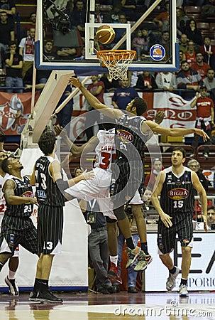 Basketball Emporio Armani 7 Editorial Image