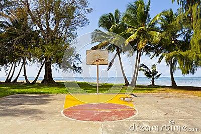 Basketball-Feld