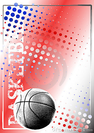 Basketball golden poster background 2