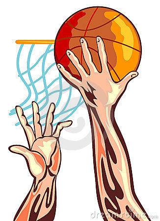 Free Basketball Hand With Ball Stock Images - 3889874