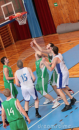 BASKETBALL MATCH Editorial Photography