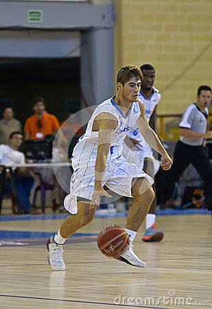 Basketball match, Cup Andalucia 2012 Editorial Photo