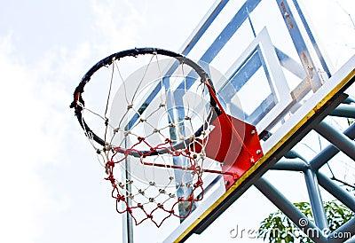 Basketball outdoor court