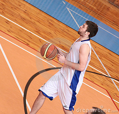 BASKETBALL PLAYER Editorial Image