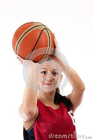 Free Basketball Player Stock Image - 19644171