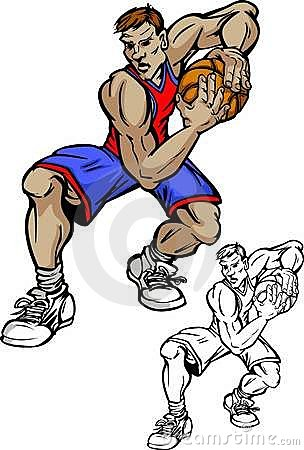 Basketball Player Cartoon
