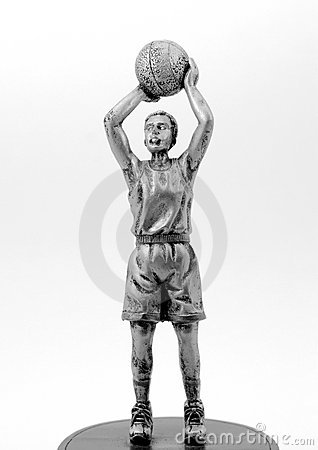 Basketball Player Sculpture