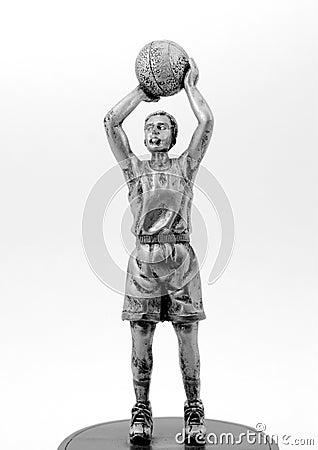 Basketball Player Sculpture