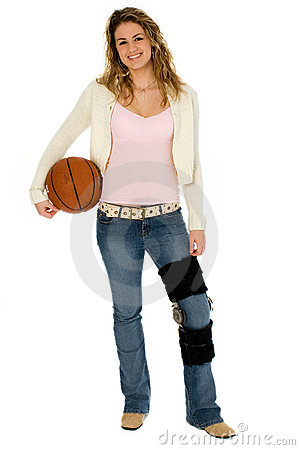 Free Basketball Player With Clipping Path Royalty Free Stock Photo - 897695