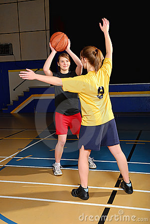 Free Basketball Players Stock Photography - 8471602