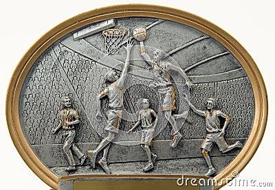 Basketball Players Sculpture