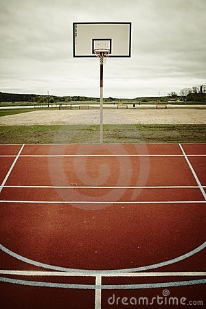 Free Basketball Playground Royalty Free Stock Images - 18698379