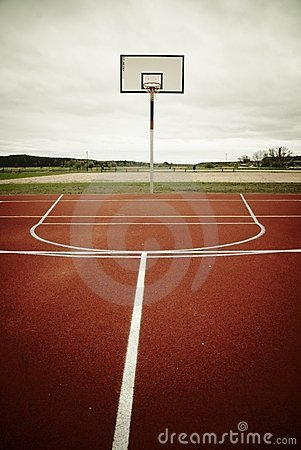 Free Basketball Playground Royalty Free Stock Images - 18698389