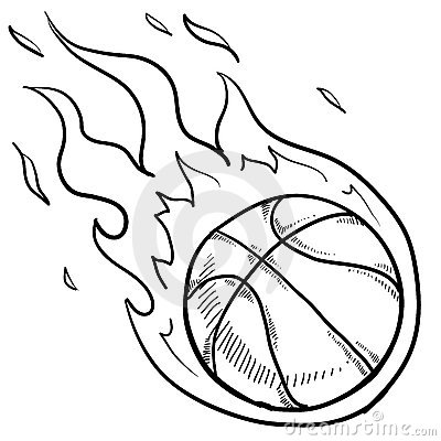 Basketball Playoffs Sketch Royalty Free Stock Photo - Image: 23158345