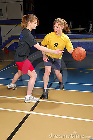 Free Basketball Scrimmage Stock Photo - 6941830