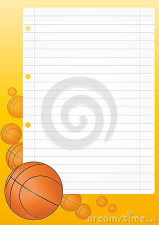 Basketball sheet