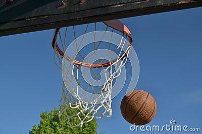 Basketball Editorial Image