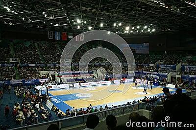 Basketball stadium Editorial Photography