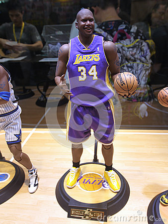 Free Basketball Star Shaquille O Neal Figure Stock Photos - 63983933