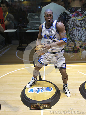 Free Basketball Star Shaquille O Neal Figure Royalty Free Stock Photos - 63983948