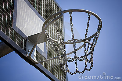 how to draw a basketball going into a hoop
