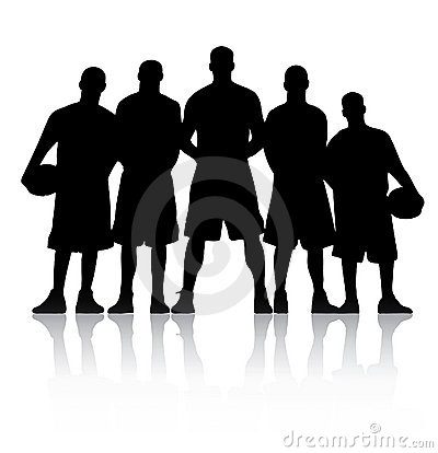 Free Basketball Team Stock Images - 11952184