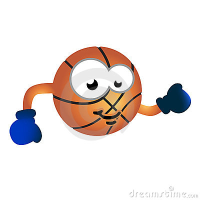 Basketball team mascot