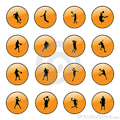 Basketball website icons