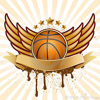 basketball and wing