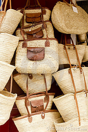 Basketry basket shop Ibiza Balearic Island