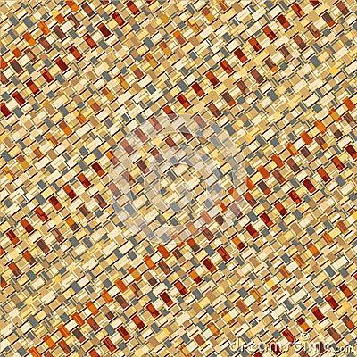 Basketry weave