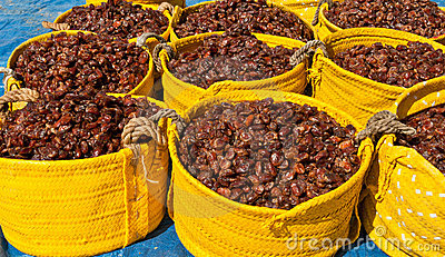 Baskets of Dates