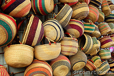 Baskets in the Market