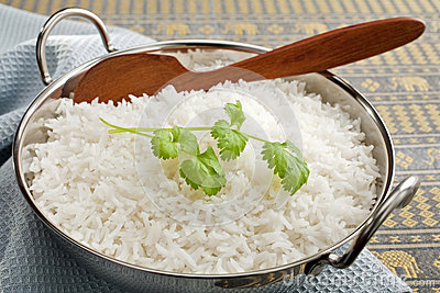 Basmati Rice and Coriander