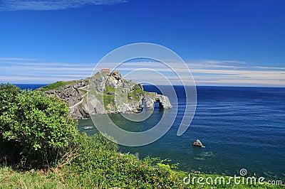Basque atlantic coast. Gaztelugatxe, Spain