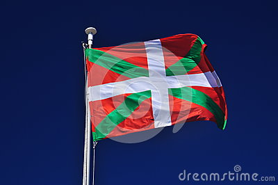 Basque flag. Euskadi Spain