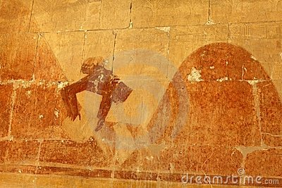 Basrelief from Hathepsut temple