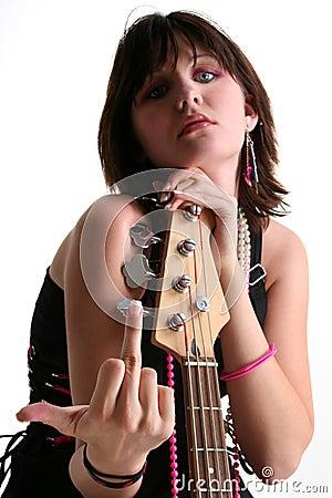 Bass Babe with Attitude V2
