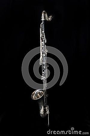 Free Bass Clarinet 002 Royalty Free Stock Image - 14454166