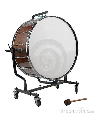 Free Bass Drum Royalty Free Stock Photos - 25043928