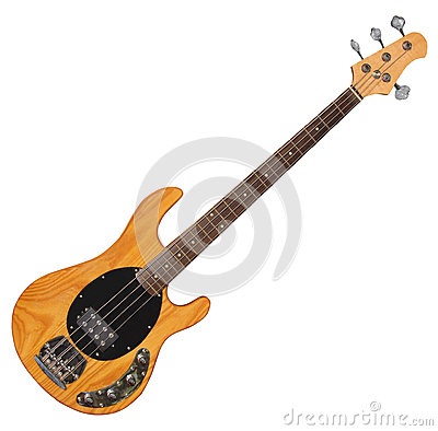 Free Bass Guitar Stock Photo - 29616570