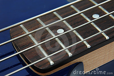 Bass Guitar Closeup 3