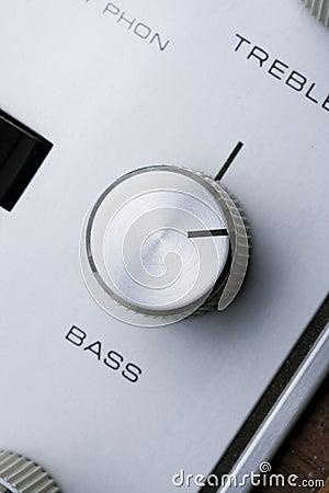 Bass knob