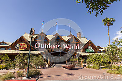 Bass Pro Shop at the Silverton hotel in Las Vegas, NV on August Editorial Photo