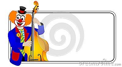 κλόουν bassist ενάντιος