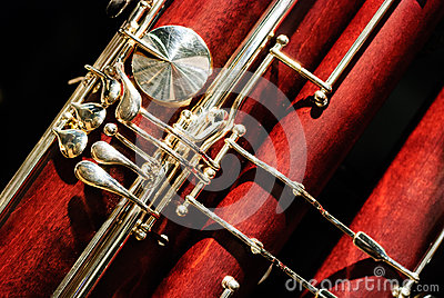 Bassoon woodwind instrument