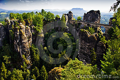 Bastei in Saxon Switzerland