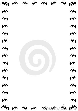 bat border royalty free stock photography image 4841237